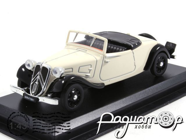 Citroen Traction Roadster (1939) LS07
