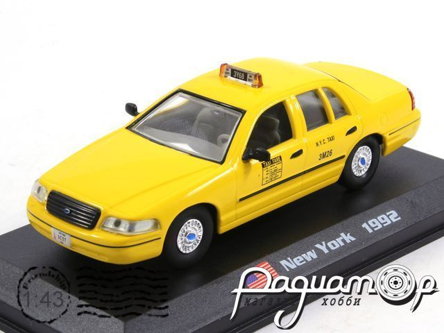 Ford Crown Victoria Taxi New York (1992) TSG01