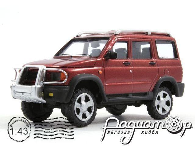 УАЗ-3162М «Симбир» (2000) 3-4-3R