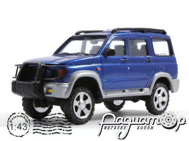 УАЗ-3162М «Симбир» (2000) 3-4-3B