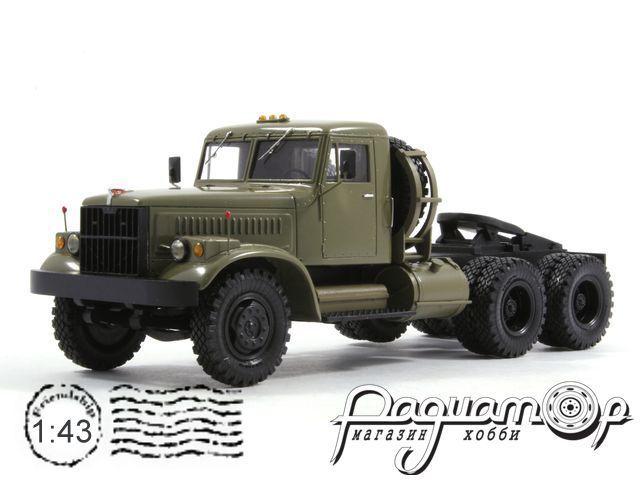 КрАЗ-258Б1 седельный тягач (1977) KM099