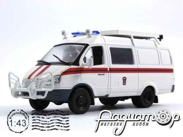 Автомобиль на службе №37, ГАЗ-2705 «Газель» АСМ МЧС (1995)