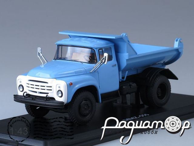 ЗИЛ-ММЗ-555 самосвал (поздний) (1979) SSM1040