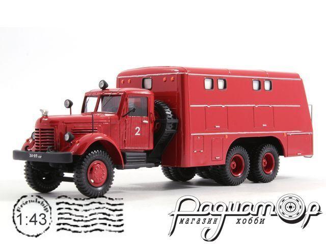 ЯАЗ-210 ПРМ-33 пожарный (1951) 5-1-6B