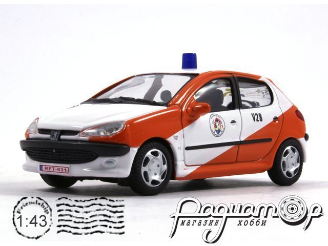 Peugeot 206 Les Pompiers (F) (1998) 42420