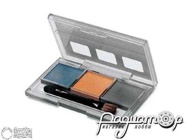Набор C сухих красок для имитации старения и погодных эффектов: Красная ржавчина/Оружейный металл/Серебро 87085