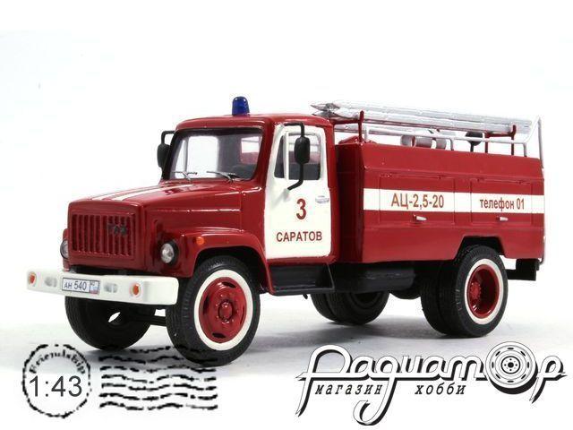 ГАЗ-3307 АЦ-25-20 пожарный (1989) K3307-1