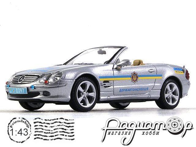 Mercedes-Benz SL600 ДПС Украины (2004) конверсия №2