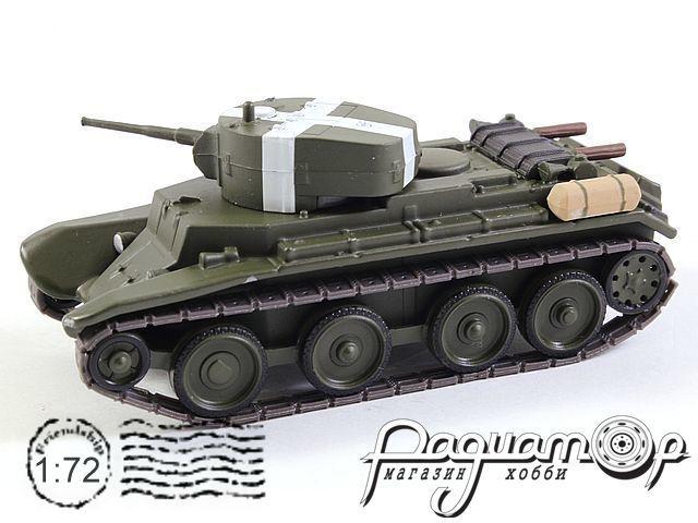 Русские танки №74, БТ-7 хаки (1935)