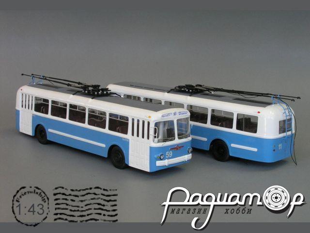 Троллейбус ЗИУ-5Б после ремонта (1980) V1-27.2