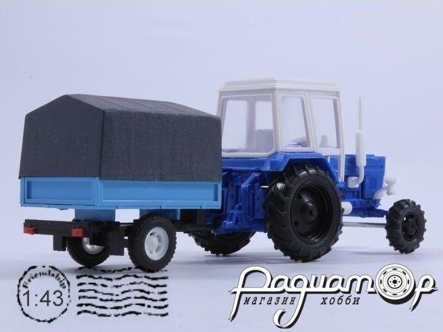 МТЗ-82 «Беларус» с прицепом (1974) 43414B