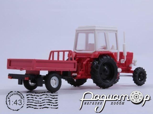 МТЗ-82 «Беларус» с прицепом (1974) 43414R
