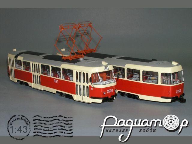 Трамвай «Татра» МТТЧ Москва (1990) W1-84.1