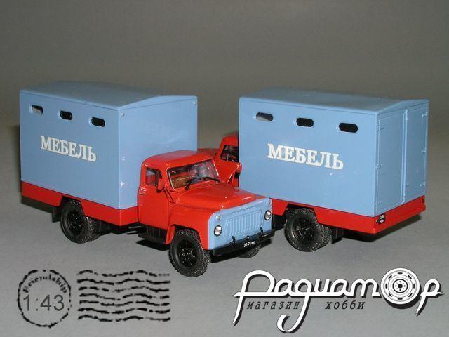 ГЗТМ 954 (52-04) мебельный фургон (1980) С4-37.4