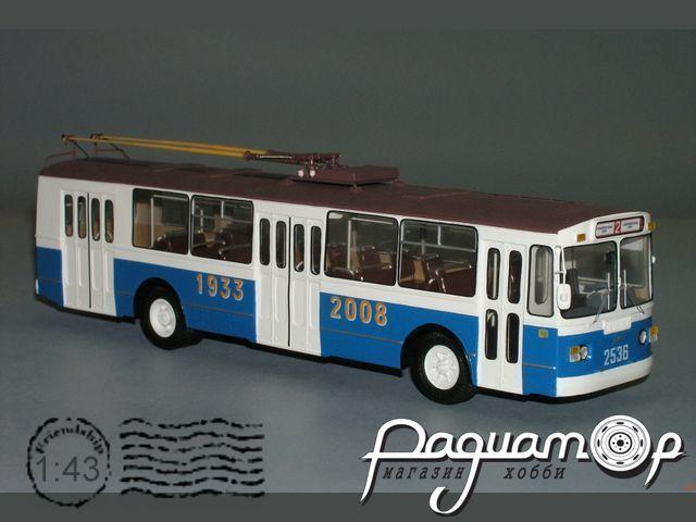 Троллейбус ЗИУ-682Г «75лет Московскому троллейбусу» (2008) W1-39.4