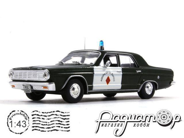 Полицейские машины мира №15, Dodge Dart Полиция Испании (1966)
