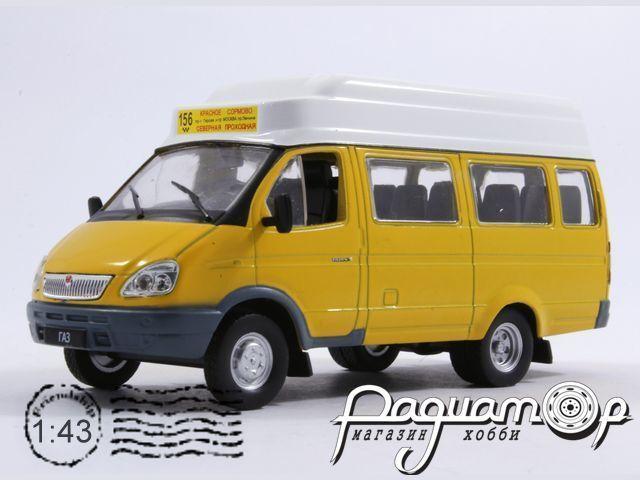 Автомобиль на службе №41, ГАЗ-322133 «ГАЗель» маршрутное такси (2002)