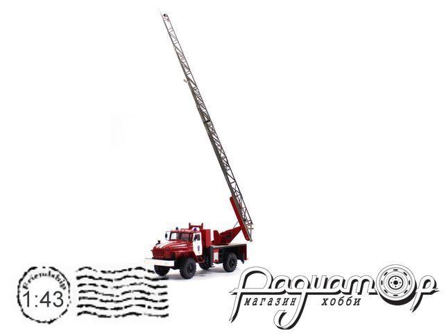 Урал-43206 АЛ-30 пожарная (1990) 5-15
