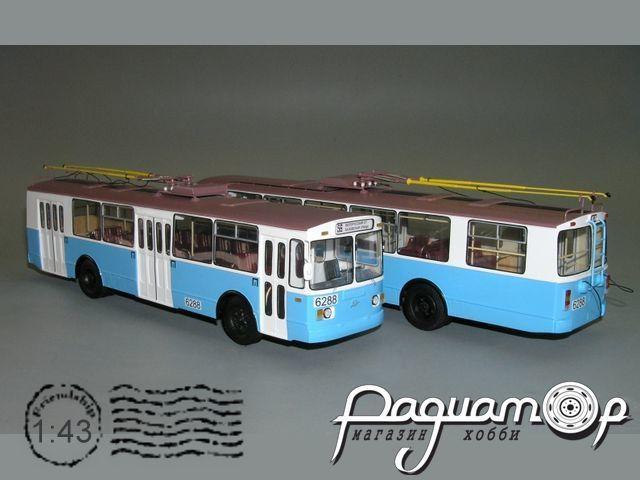 Троллейбус ЗИУ-682Г Москва, 6-й парк (1990) W1-39.2