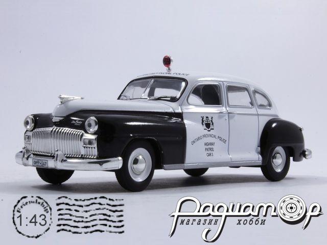 Полицейские машины мира №16, Chrysler De Soto Полиция Канады (1950)
