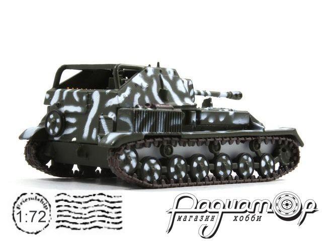 Русские танки №77, СУ-76М камуфляж (1942)