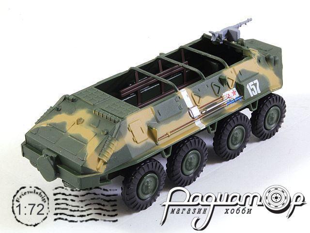 Русские танки №27, БТР-60П (1960)