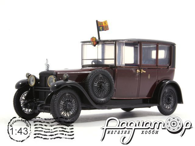 Daimler Brougham V-30 HP Double Six Engine король George V (1929) RD001