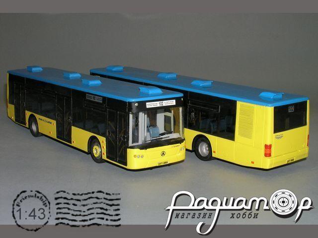ЛАЗ-А183 низкопольный автобус, Киев (2007) V0-01.1