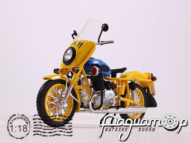 Мотоцикл УРАЛ ИМЗ-8.923 патруль ГАИ (1985) MSM0010