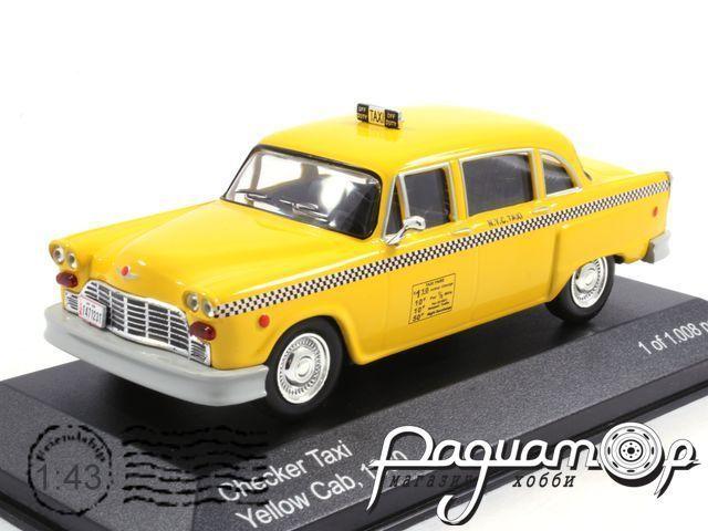 Checker Taxi Yellow Cab NY (1980) WB024