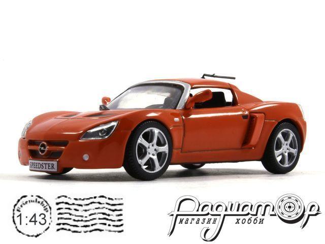 Суперкары №67, Opel Speedster (2000)