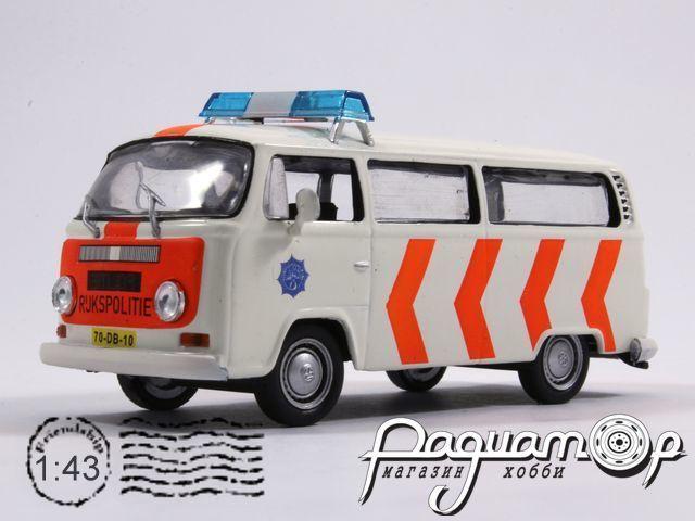 Полицейские машины мира №17, Volkswagen Transporter T2 Полиция Нидерландов (1967)
