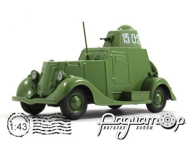 Автолегенды СССР №109, БА-20 (1936)