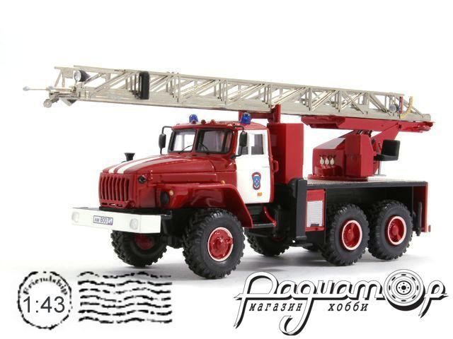 Урал-4320 АЛ-30 пожарная (1990) 5-17