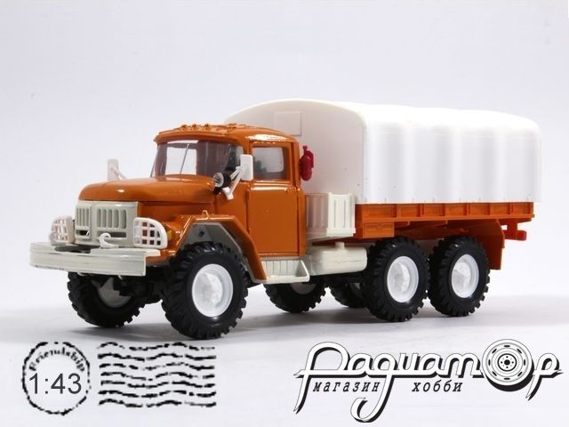 ЗИЛ-131 с тентом, Автоэкспорт (1966) EL02006-09