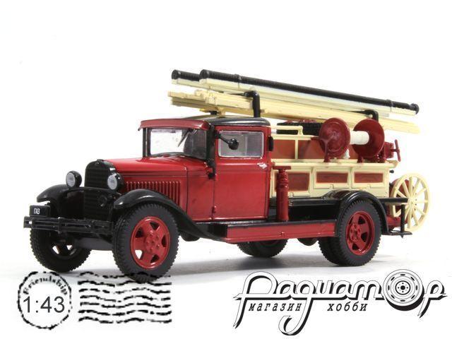 Автомобиль на службе №46, ПМГ-1 (ГАЗ-АА) пожарный (1932)