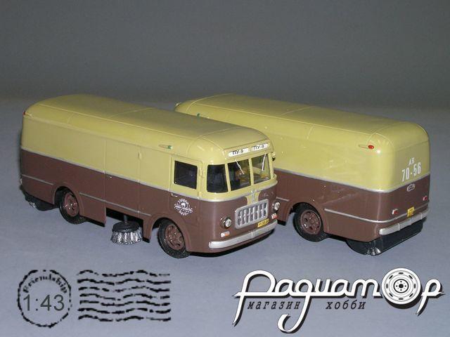 ПУ-9 (251) подметально-уборочная (1956) V4-70.2