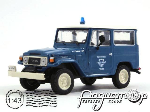 Полицейские машины мира №18, Toyota Land Cruiser Полиция Греции (1970)
