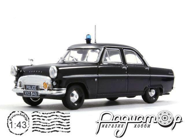 Полицейские машины мира №19, Ford Consul II Полиция Англии (1959)