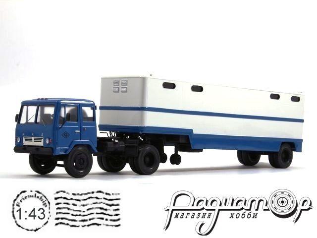 КАЗ-608 «Колхида» с полуприцепом ОдаАЗ-794 (1972) 8-2-19-2