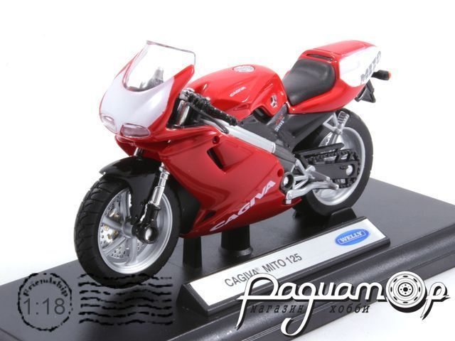 Мотоцикл Cagiva Mito 125 (2003) WM01