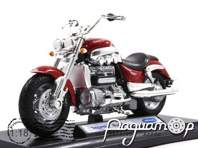 Мотоцикл Triumph Rocket III (2004) WM23