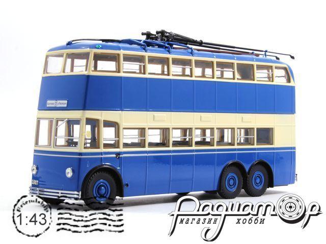 Троллейбус ЯТБ-3, двухдверный (1938) UM43-A5-2