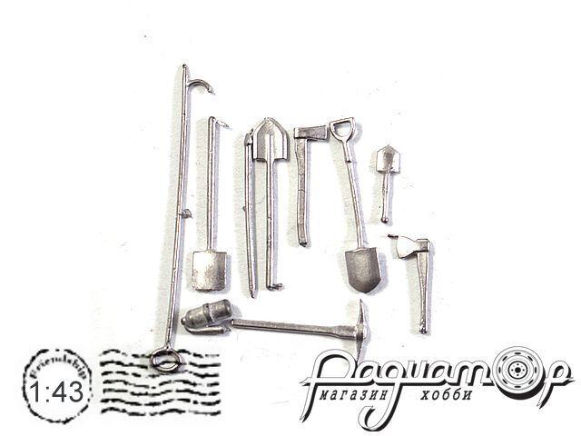 Набор инструментов (10 предметов) (ZU)