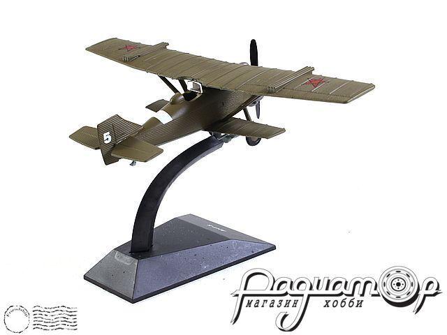Легендарные самолеты №49, АНТ-5 (1928) 1:124 (I)