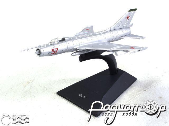 Легендарные самолеты №44, Су-7 (1960) 1:112 (I)
