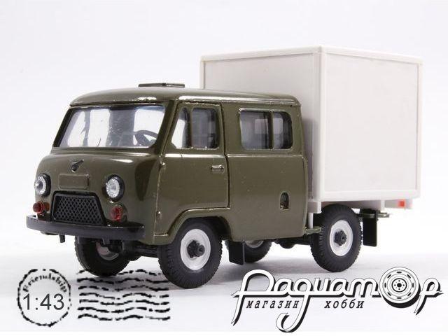 УАЗ-39094 «Фермер» с будкой (1996) 10026