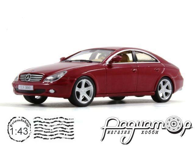 Суперкары №72, Mercedes-Benz CLS (2004) (i)