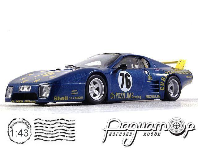 Коллекция Феррари №51 Ferrari 512 BB Le Mans (1981)