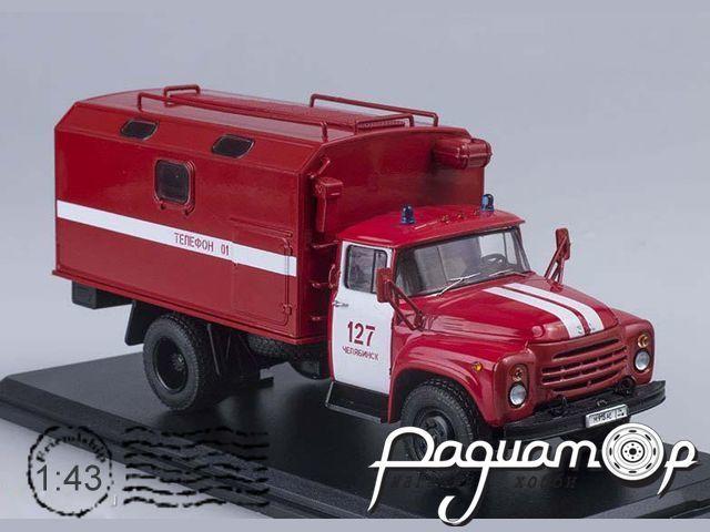 ЗИЛ-130-76 кунг пожарная служба (1974) SSM1066